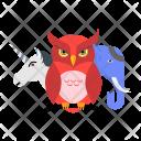 Animal Wildlife Owl Icon