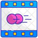 Movie Reel Animation Icon