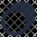 Animation motion diagonal down left Icon