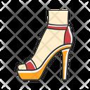 Shoe Footwear Woman Icon