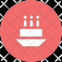 Anniversary Birthday Cake Icon
