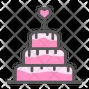 Cake Anniversary Celebration Icon