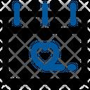 Cupid Romantic Calendar Icon