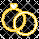 Anniversary Engagement Heart Icon