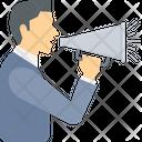 Annoucement Speaker Marketing Icon