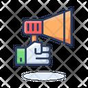 Annoucement Promotion Megaphone Icon