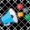 Annoucement Marketing Media Icon