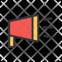 Announcement Bullhorn Branding Icon