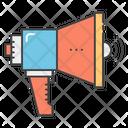 Announcement Megaphone Speaker Icon