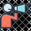 Announcement Megaphone Broadcasting Icon