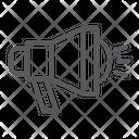 Bullhorn Loudspeaker Megaphone Icon