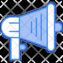Announcement Loudspeaker Megaphone Icon