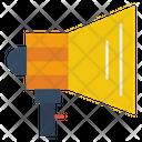 Announcement Marketing Megaphone Icon