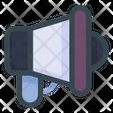 Announcement Megaphone Loudspeaker Icon