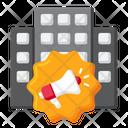 Announcement Megaphone Marketing Icon