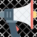 Announcement Bullhorn Loud Icon