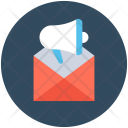 Announcement Email Advertise Icon