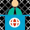 Announcer Announcement Reception Icon