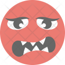 Pouting Face Angry Icon