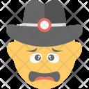 Sad Smiley Angry Icon