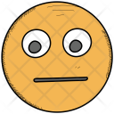 Annoyed Smiley Tired Icon