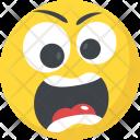 Sad Angry Emoji Icon