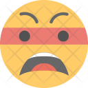 Frowning Face Angry Icon