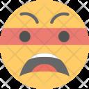 Annoyed Smiley Icon