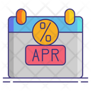 Annual Percentage Rate Icon