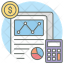 Annual Report Business Report Financial Report Icon