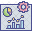 Business Chart Presentation Icon