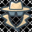 Anonymity Anonymous Spy Icon