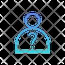 Anonymous Unrecognizable Horizontal Icon