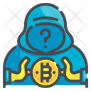 Anonymous Profile Incognito Digital Currency Anonymity Unknown Icon