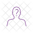 Anonymous Face Mysterious Unknown Icon