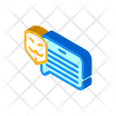 Anonymous Review Isometric Icon