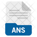 Ans file Icon