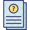 Answer Answer Sheet Education Quiz Icon