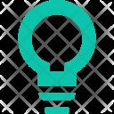 Answer Bulb Bright Icon