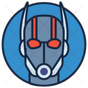 Ant Man Warrior Superhero Icon
