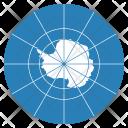 Antarctica Treaty Flag Icon