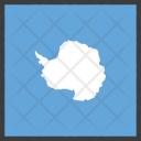 Antarctica Antarctic Continent Icon