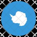 Antarctica Flag Circle Icon