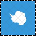 Antarctica Continent Flag Icon