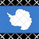 Flag Country Antarctica Icon