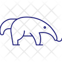 Anteater Mammal Animal Icon