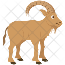 Mountain Goat Mouflon Icon