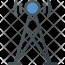 Tower Signal Communication Icon