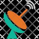 Dish Antenna Parabolic Icon