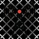 Antennas Signal Tower Icon